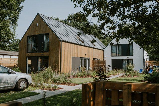 domy skandynawskie ogród