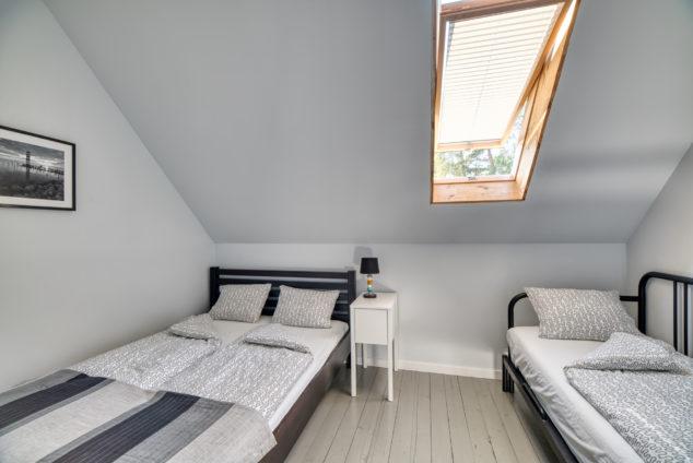 segment typu C sypialnia łóżko małżeńskie łóżko podwójne rozkładane
